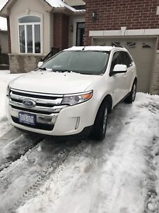 2011 white Ford Edge limited AWD