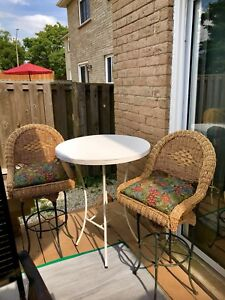 Gone today ! Bar patio set