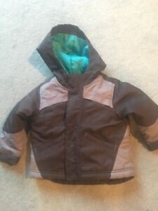 18-24 month winter jacket with detachable liner