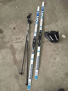 Rossignol cross country skis waxless