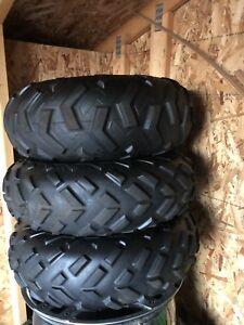 Honda take off tires and rims