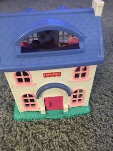 Children's toys Fisher-price dollhouse with all accessories