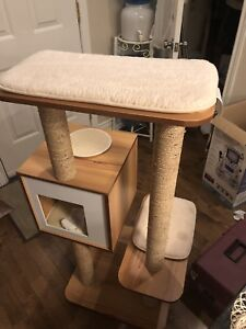 Absolutely stunning modern cat tree for the stylish, clean home
