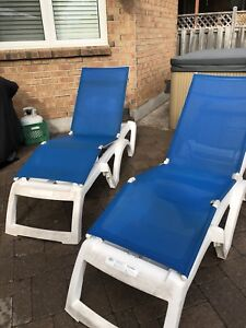 Patio/Pool Lounge Chairs - 2 available