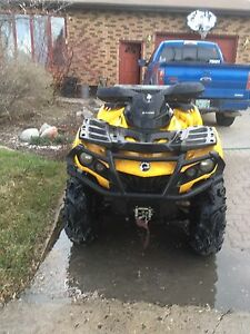 2013 can am outlander xt 800