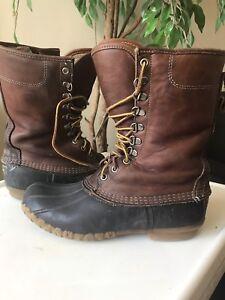 """LL Bean insulated duck boots 9"""""""