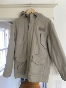 Men's Billabong Parka. Great condition. Size small