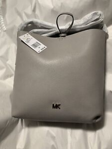 10ba8c58cdd5 Michael Kors Purse   Tote in Grey Leather