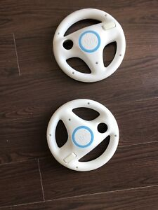 Wii wheel controllers