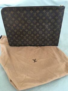 Louis Vuitton Document Folder Authentic