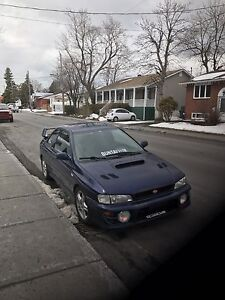 2000 Subaru Impreza 2.5rs AWD 5speed