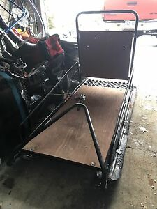 Fold down Towing Sled