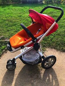 Quincy buzz stroller with bassinet