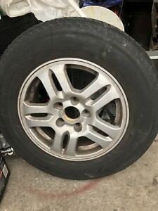 winter tires with rims and mag crv