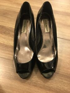 Black Steve Madden High heels size 8.5