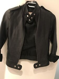 Aritzia Talula Babaton Leather Jacket - XXS