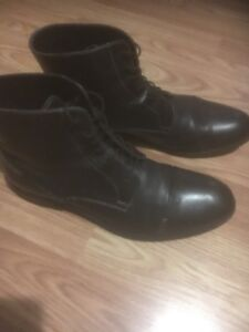 Genuine leather size10 boots