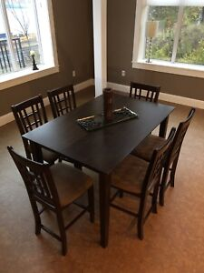 6-8 seater wooden dining table