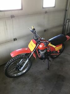 Minty 1984 honda XR 100 collector