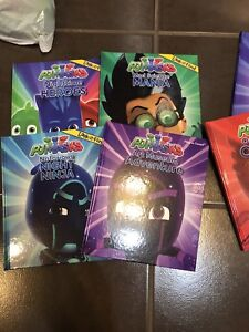 Pj mask books