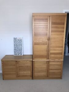 Solid Wood Dressers ($50 for Both)