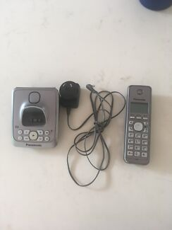 PANOSONIC CORDLESS PHONE + ANSWERING MACHINE
