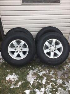 GMC rims on Pegasus Advanta A/T tires