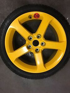 VZ HSV CLUBSPORT SPARE WHEEL RIM MAG TYRE 18 COMMODORE VY VT VX VR VS Wattle Grove Liverpool Area Preview