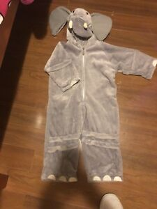 Elephant / tiger costumes size 2t-3t $5