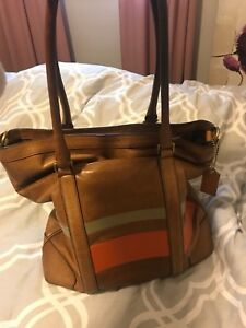 Coach bag/purse leather