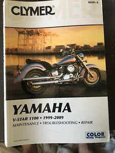Yamaha V-Star 1100 Clymer manual