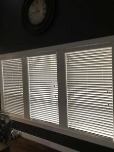 "20 Hunter Douglas 2"" wood blinds"