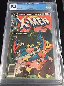 Xmen 115 CGC 9.8 White Pages Rare To Find