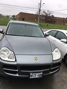 2004 Porsche Cayenne S used propane converted