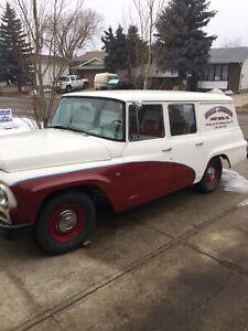 1965 international travellall ambulance edition!!