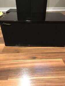 Mirage Tower and Centre Channel Speakers