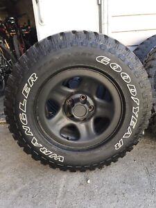 *New price* Jeep tires on rims for sale
