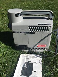 Coleman hot water on demand