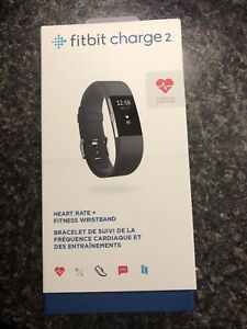 Fitbit Charge 2- black & small