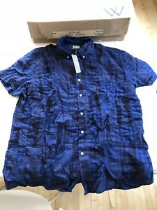 Brand new with tags - J. Crew men's blue shirt XL