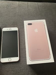 Apple iPhone 7 Plus Rose Gold 32GB mint condition