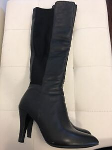 Black GUESS Thigh High Boots