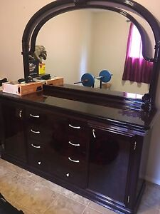 Italian Dresser and two night stands