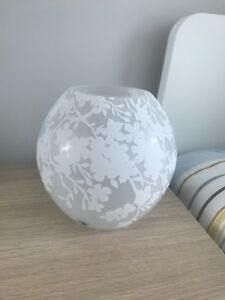 Ikea table lamp, cherry-blossoms white
