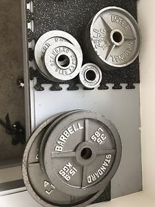 245 lbs Olympic Weight Set, 2 inch Hole