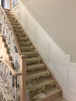 Wainscotting Crown Moulding Baseboards Painting & More