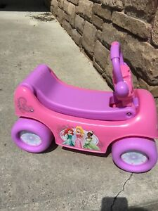 Disney Princess Ride on Toy