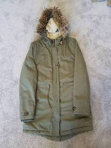 French Connection Fur Parka Prospect Prospect Area Preview