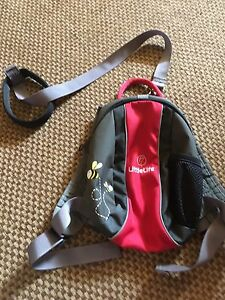 Little Life toddler backpack with leash