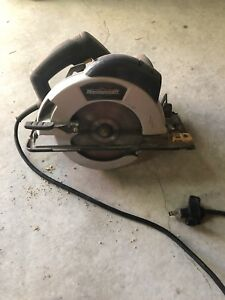 Mastercraft 7 1/4 corded circular saw